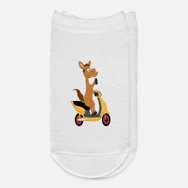 Riding Donkey Donkey rides a Motorcycle - Ankle Socks