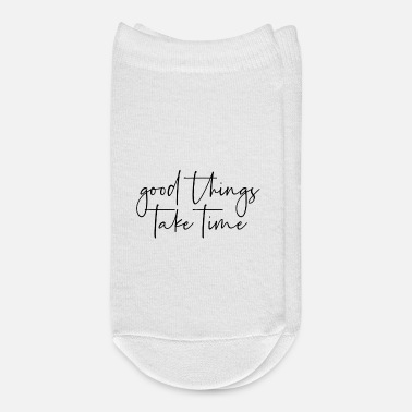 Takecare Good things take time - Ankle Socks