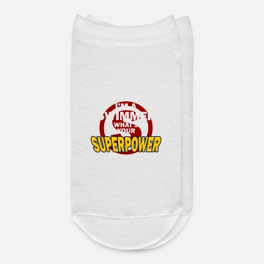 I Am A Swimmer I am swimmer Superpower - Ankle Socks