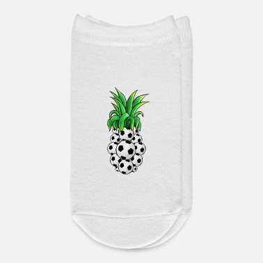 Pineapple And Soccer Soccer ball Pineapple - Ankle Socks