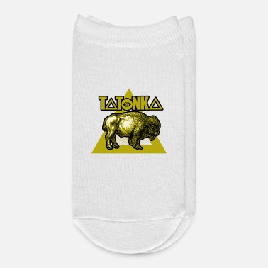Native American Buffalo Tatonka american native buffalos design gift - Ankle Socks