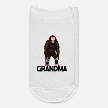 Monkeys Monkey Grandma Chimpanzee - Ankle Socks
