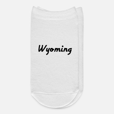 Us State Wyoming - Cheyenne - US State - United States - Ankle Socks