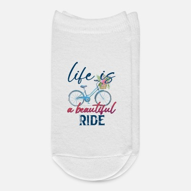 Life Life is a Beautiful Ride - Ankle Socks