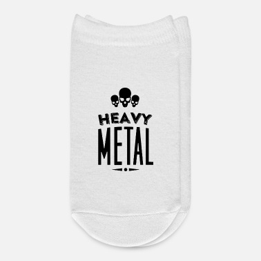 Heavy Metal Heavy Metal Cool Lettering - Ankle Socks