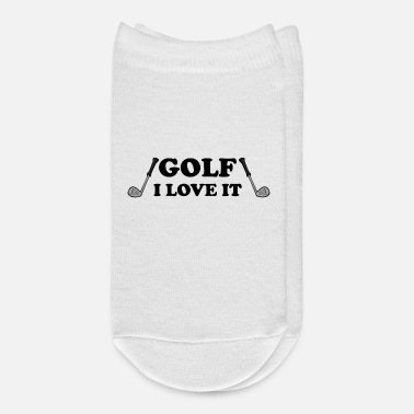 I Love Sports Wear Golf - I love it - Ankle Socks