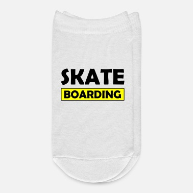 Kickflip Skateboard Design for Skaters - Ankle Socks