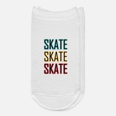 Kickflip Skateboard Design for Skater - Ankle Socks