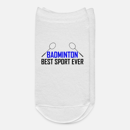 Badminton Socks - Badminton - Ankle Socks white