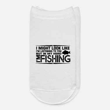 Occasion But In My Head I Am Fishing T-shirt - Ankle Socks
