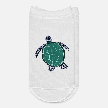 Sea Sea Turtle - Ankle Socks