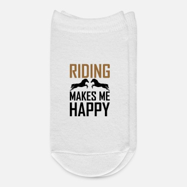 World Riding Horseriding Rider Horse - Ankle Socks