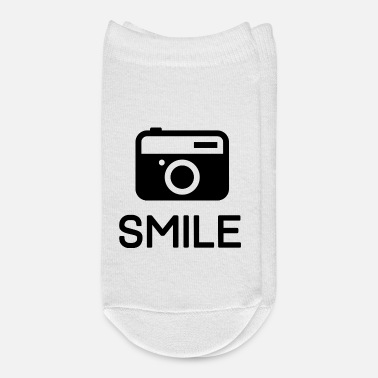 Picture funny Picture Camera Smile - Ankle Socks