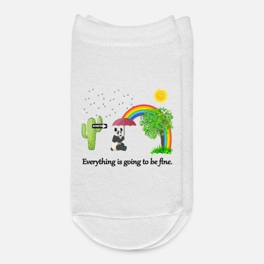 Fine Everything is going to be fine - Ankle Socks