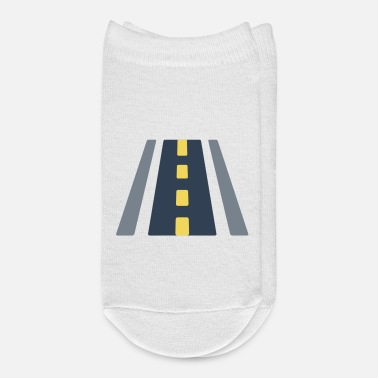 Road Bike road illustration - Ankle Socks