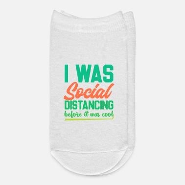 Funny Introvert Shirts | Funny Social Distancing - Ankle Socks