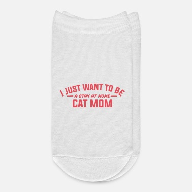 Funny Cat Mom Shirts| Funny Cat Shirts| Cat Lover - Ankle Socks