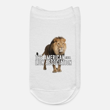 Association Standing Lion - American Lion Association - Ankle Socks