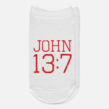 Bible John 13:7 bible verse - Ankle Socks