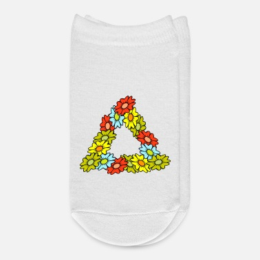 Triangle Hippie Delta - Flower Triangle (DDP) - Ankle Socks