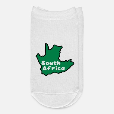 Worldcup south africa map world cup 2010 - Ankle Socks