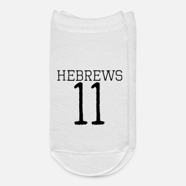 Bible Hebrews 11 bible verse - Ankle Socks