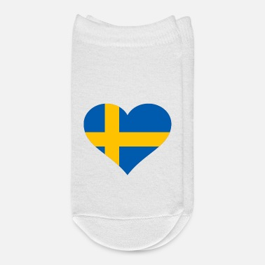 Sweden I love Sweden - Flag Stockholm - Europe - Svenska - Ankle Socks