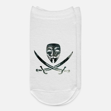 Anonyous Digital Pirates - Ankle Socks