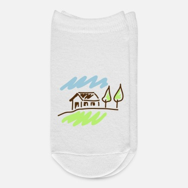 Country country house c1 - Ankle Socks
