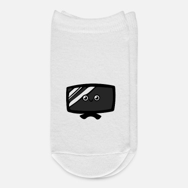 Television Television - Drawing - Ankle Socks