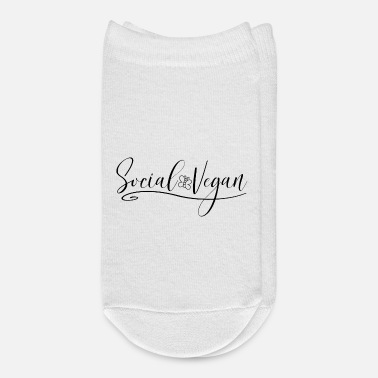 Decoration Social Vegan Funny Introvert - Ankle Socks