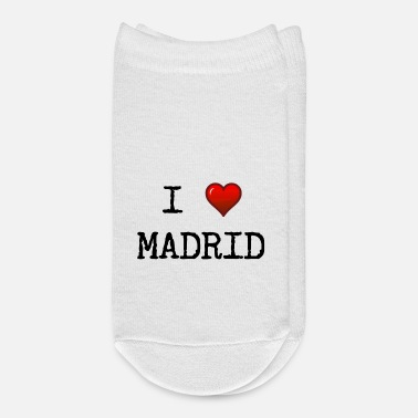 Spanish I love Madrid - Spain - spanish - Espana - Europe - Ankle Socks