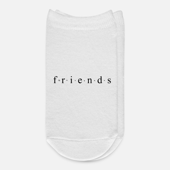 Show Socks - Friends - Ankle Socks white