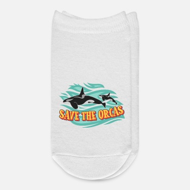 Save Save the orcas - Ankle Socks