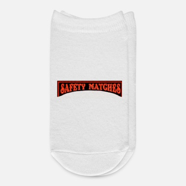 Match Safety Matches - Ankle Socks