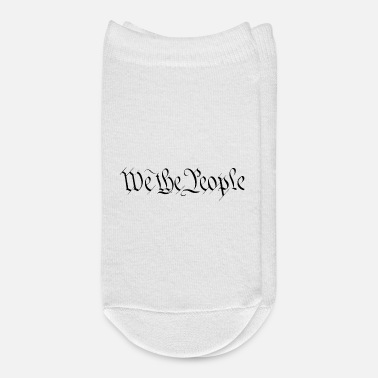 The Constitution We the people * USA * American constitution - Ankle Socks