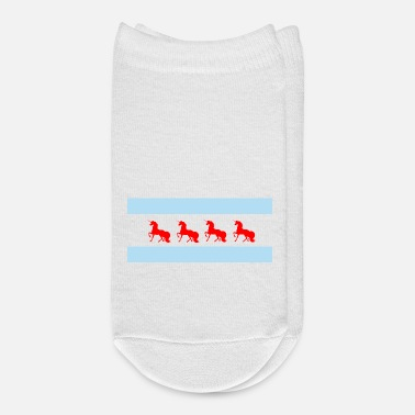 Chicago chicago flag - Unicorn - Ankle Socks