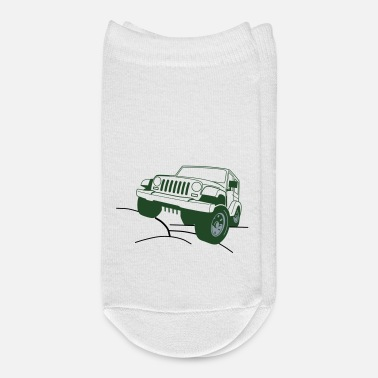 Vehicle Jeep,car,Offroad, Vehicle, v8, - Ankle Socks