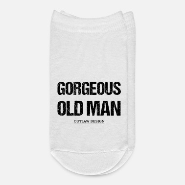 Old Gorgeous Old Man - Ankle Socks