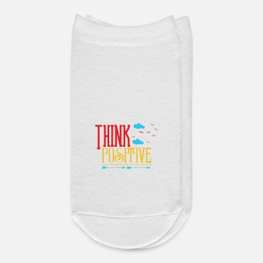 Positive THINK POSITIVE - Ankle Socks