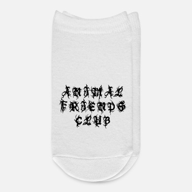 Curlicue Animal Friends Club - Sayings Statement Gift Ideas - Ankle Socks