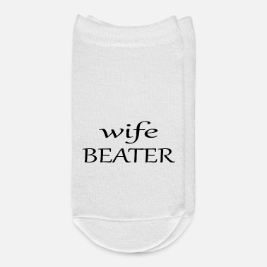 Wife wife beater - Ankle Socks