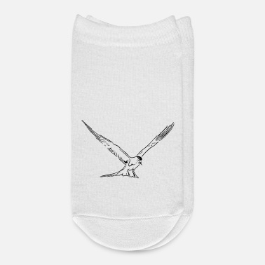 Baltic Sea Floating seagull at North Sea and Baltic Sea coast - Ankle Socks