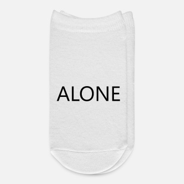 Alone ALONE ALONE - Ankle Socks
