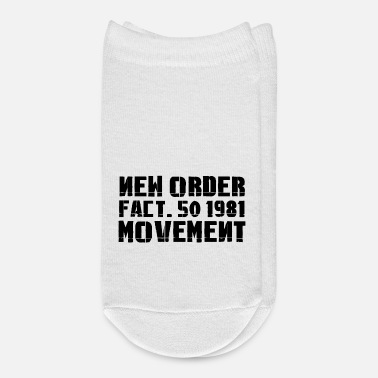 Movement New Order Movement Factory 1981 Movement - Ankle Socks