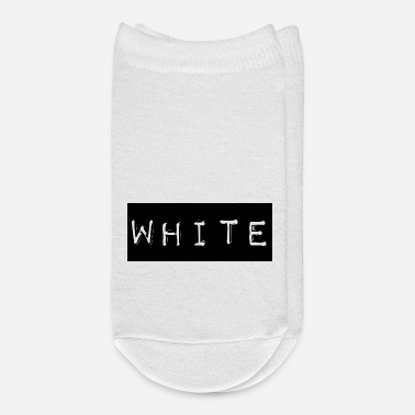 Text White label text - Ankle Socks