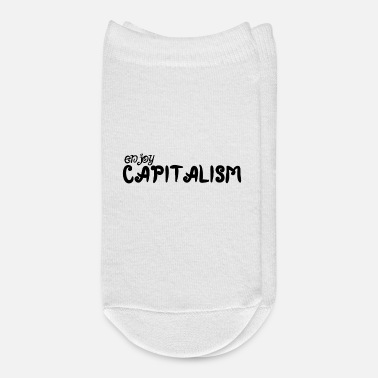 Wealthy Enjoy Capitalism - Ankle Socks