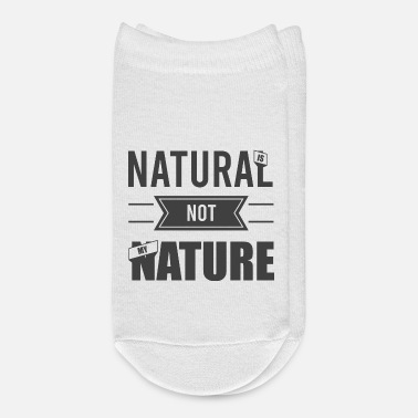 Natural Natural is not my nature - Ankle Socks