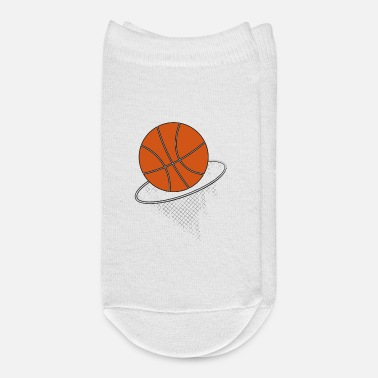 Basket Basketball with basket - Ankle Socks