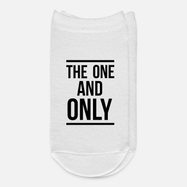 Slogan The one and only slogan - Ankle Socks
